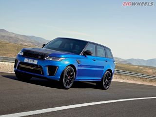 2018 Range Rover Sport SVR: First Drive Review