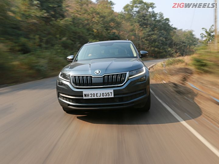 Skoda Kodiaq Road Test Review ZigWheels