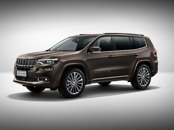 Official: Jeep Grand Commander 7-Seat SUV Debuts At Beijing Auto Show