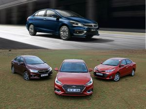 New Maruti Suzuki Ciaz vs Honda City vs Hyundai Verna vs Toyota Yaris Spec Comparison