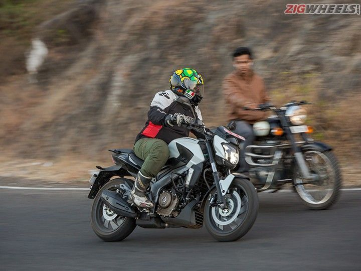 Bajaj Dominar 400 design