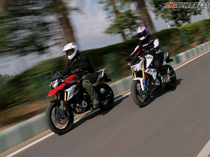 BMW G 310 R and GS