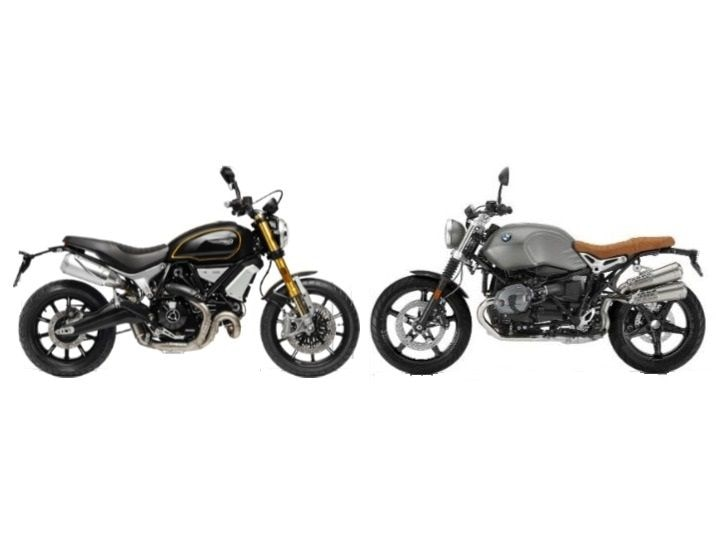 BMW RnineT Scrambler vs Ducati Scrambler 1100 Spec Comparison 11