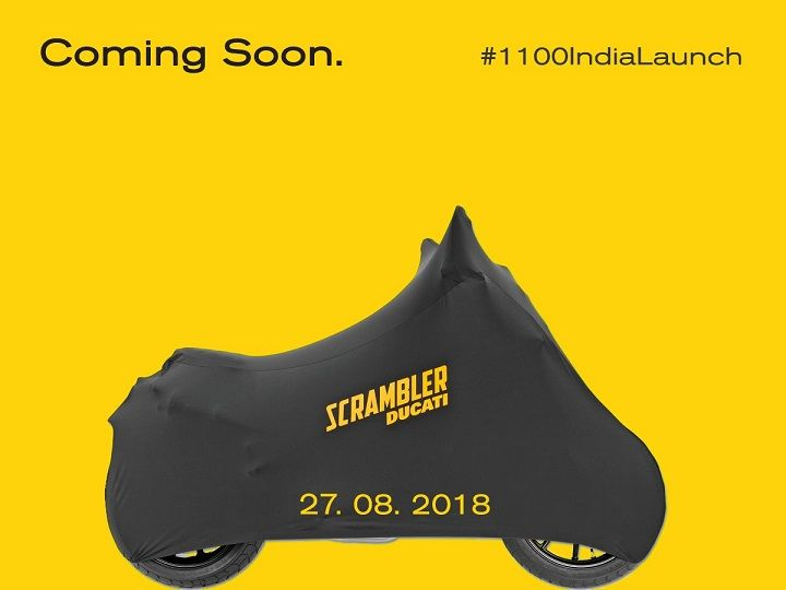 Ducati Scrambler 1100 launch