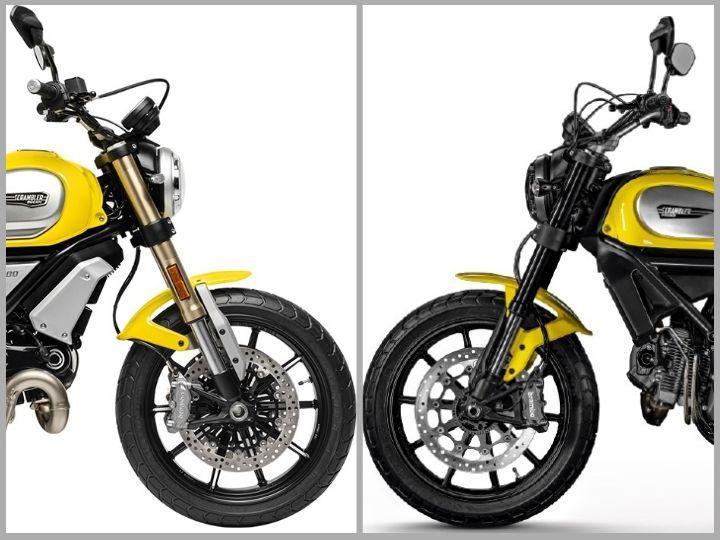 Ducati Scrambler 1100 vs 800