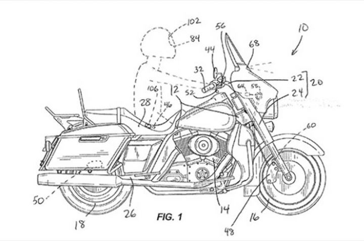 Harley-Davidson Working On Autonomous Braking Technology