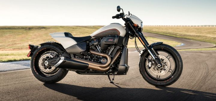 2019 harley davidson fxdr 114 breaks cover zigwheels. Black Bedroom Furniture Sets. Home Design Ideas