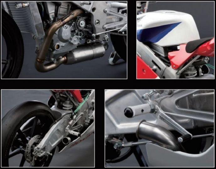 Honda NSF 250R design