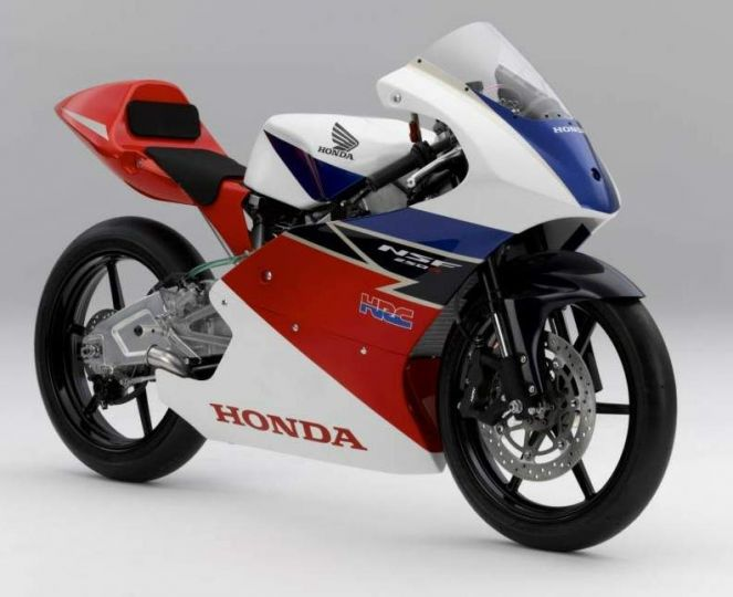 Honda NSF 250R front angle