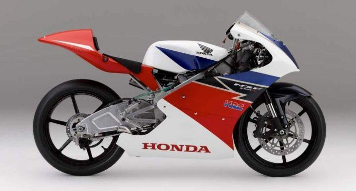 Honda NSF 250R side