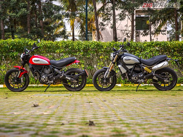 Ducati Scrambler 1100 and Scrambler 800