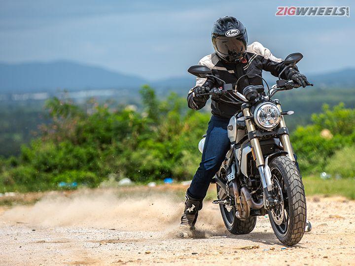 Ducati Scrambler 1100 in action
