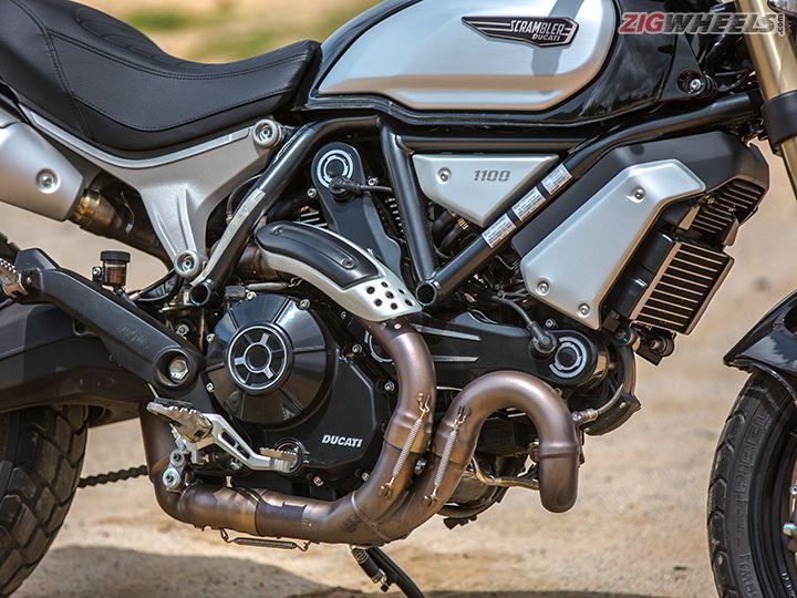 Ducati Scrambler 1100 engine
