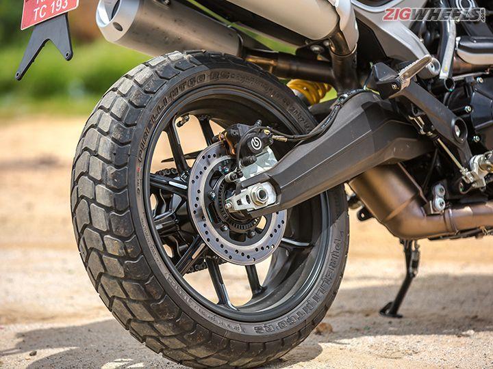 Ducati Scrambler 1100 brakes