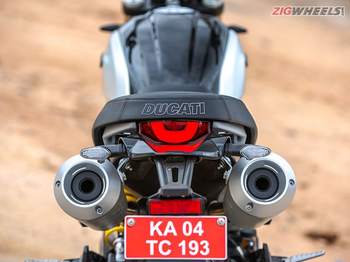 Ducati Scrambler 1100 tail light