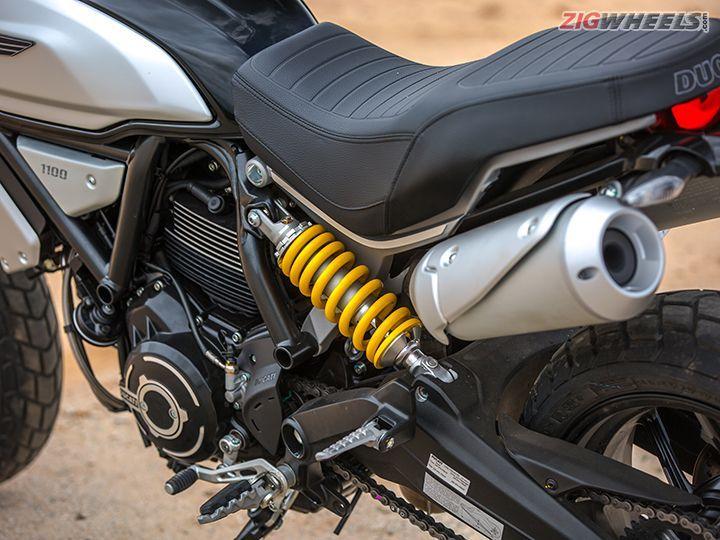 Ducati Scrambler 1100 rear monoshock