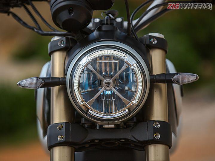 Ducati Scrambler 1100 headlight