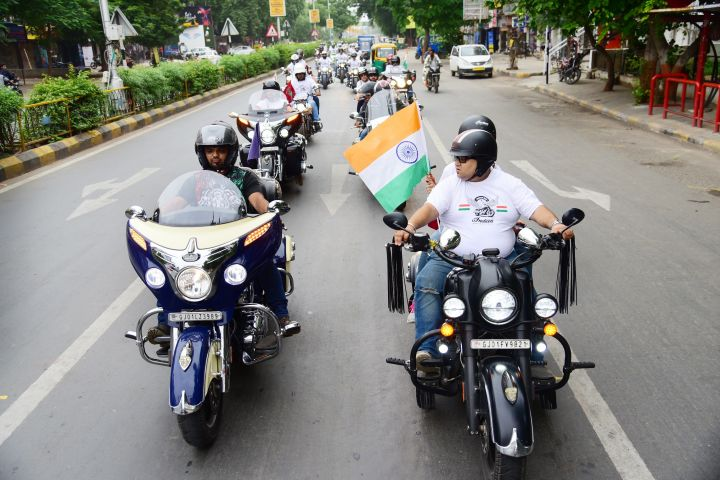 Indian Motorcycle Wraps Up Independence Day Ride