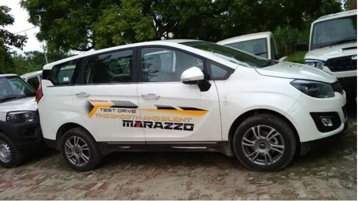 Mahindra Marazzo Spied Undisguised