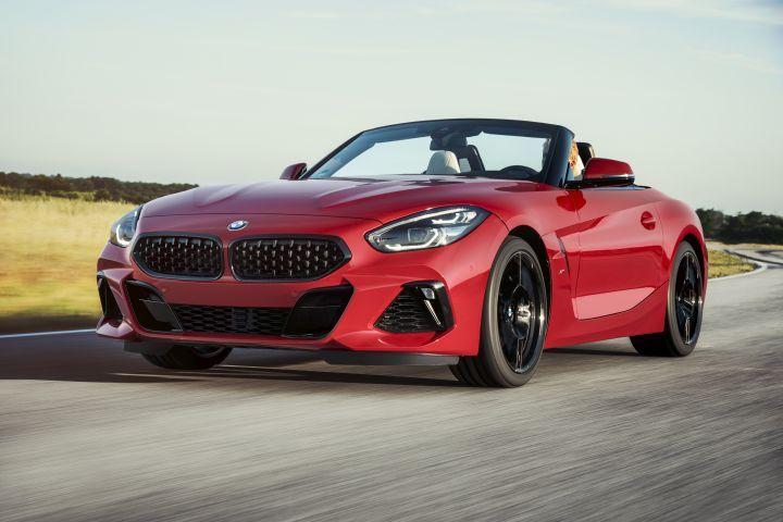 BMW reveals new Z4 roadster