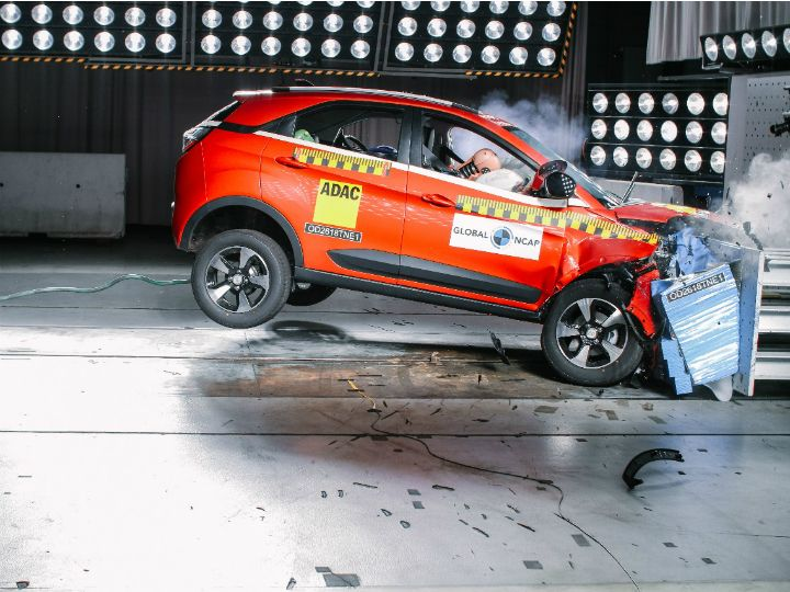 Tata Nexon crash test