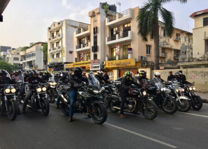 Triumph Ride for Freedom