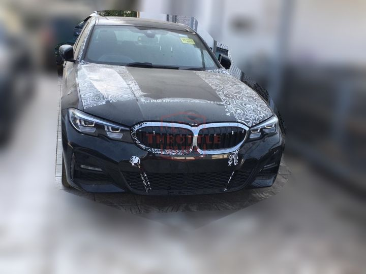 2019 Bmw 3 Series Spied In India Will Rival C Class Jaguar Xe