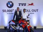 BMW G 310 Production Crosses 50,000 Milestone