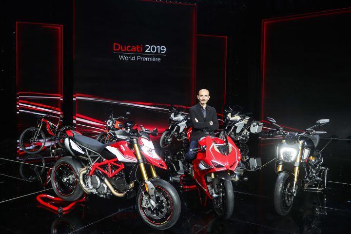 Claudio Domenicali Ducati V4