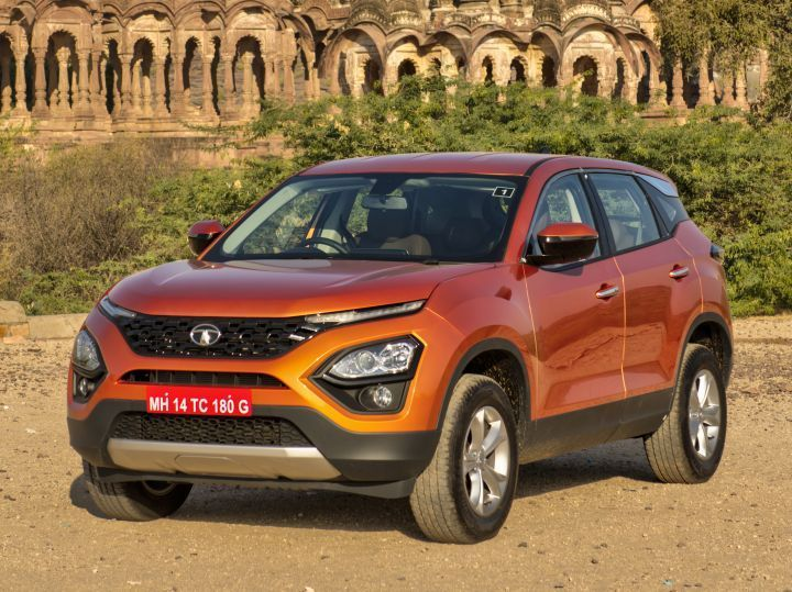 Tata Harrier MID in depth look