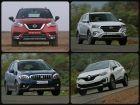 Nissan Kicks Vs Creta Vs S-Cross Vs Captur Spec Comparison