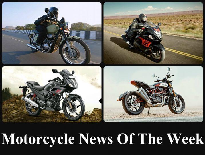 Motorcycle News Of The Week