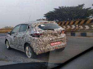 Tata 45X-based Hatchback Spied Again, Interiors Revealed