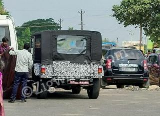Exclusive: Beefier Next-gen Mahindra Thar Caught Testing