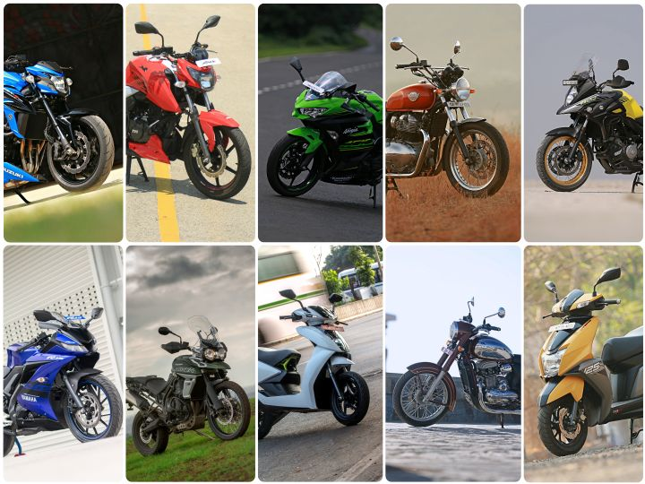 Top 10 bikes launched in 2018