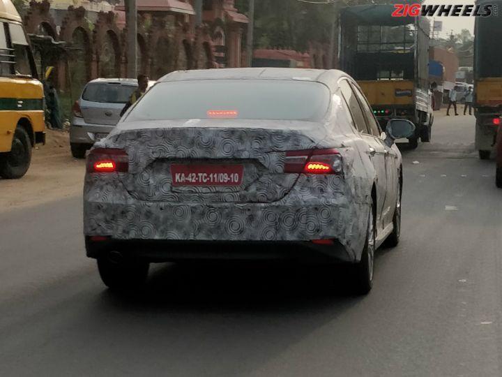 2019 Toyota Camry Spied India ZigWheels