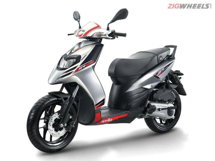 Aprilia SR 125 Unveiled At Auto Expo 2018
