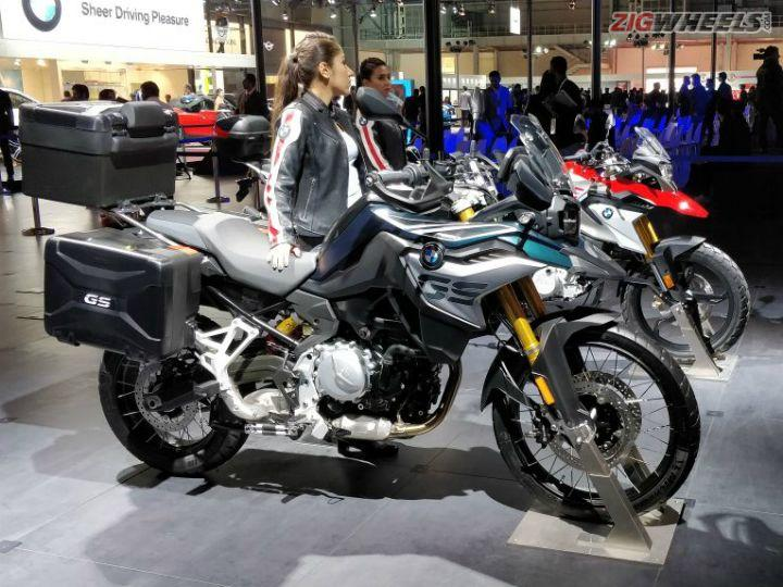 bmw f 850 gs launched at auto expo 2018 zigwheels. Black Bedroom Furniture Sets. Home Design Ideas