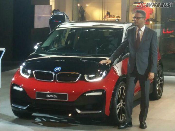 BMW I3S Showcased Auto Expo 2018