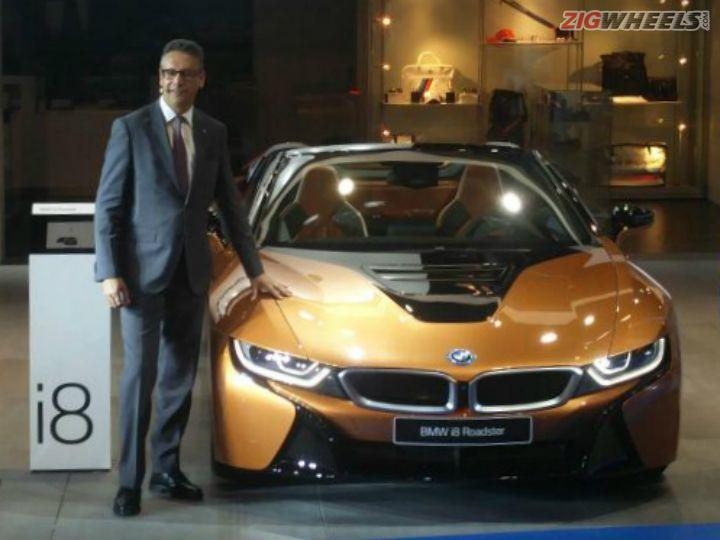 Bmw I8 Roadster Showcased At Auto Expo 2018 Zigwheels