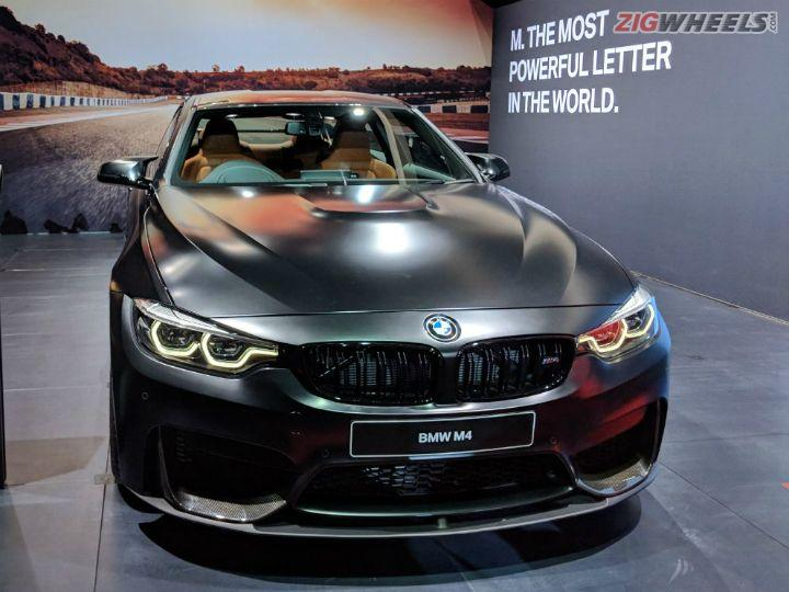 BMW M4 Coupe Launched At Auto Expo 2018