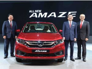 Honda Amaze 2018 At Auto Expo: In Pics