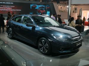 Honda Civic Showcased At Auto Expo 2018