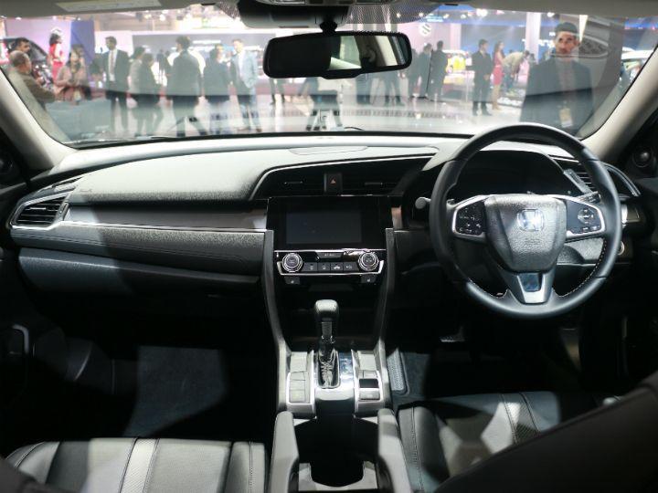 Honda Civic Showcased At Auto Expo 2018 Zigwheels