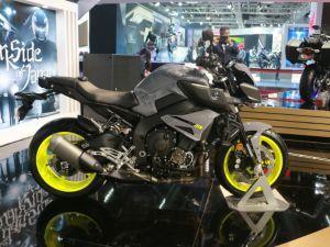 Yamaha MT-10 Showcased At Auto Expo 2018