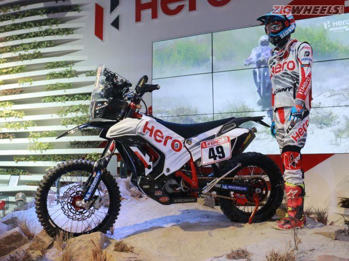 Hero Dakar Bike
