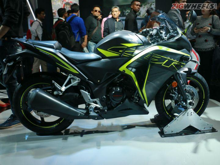Updated Honda CBR250R Showcased At Auto Expo 2018