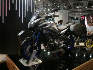 Yamaha Tracer 900 Showcased At Auto Expo 2018