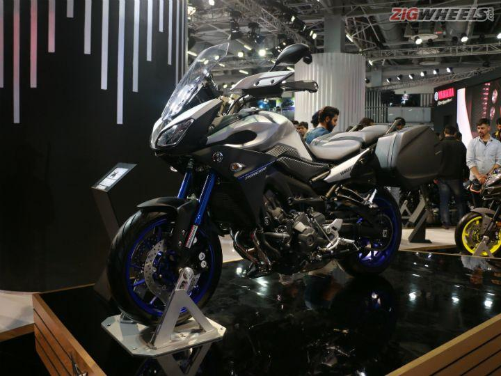 Yamaha Tracer 900 Showcased At Auto Expo 2018