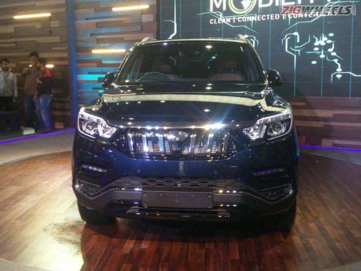 Mahindra SsangYong G4 Rexton Revealed At Auto Expo 2018